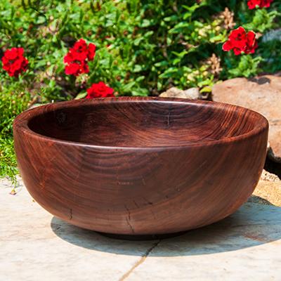 Black Walnut salad bowl