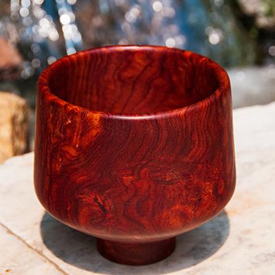 Amboyna bowl